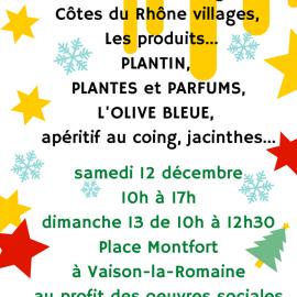 12 et 13/12/2020 – Marché de Noël