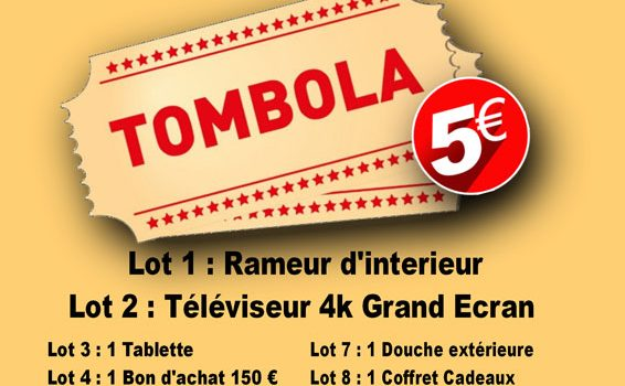 Flyer tombole VIE