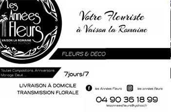 Les années fleurs - Partenaire Lions Club de Vaison la Romaine
