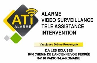 ATI Alarme - Partenaire Lions Club de Vaison la Romaine
