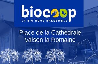 Biocoop - Partenaire Lions Club de Vaison la Romaine