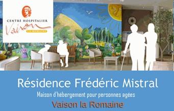 Résidence Frédéric Mistral - Partenaire Lions Club de Vaison la Romaine