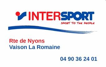 Intersport - Partenaire Lions Club de Vaison la Romaine