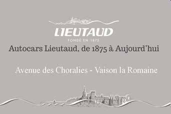 LIEUTAUD- Partenaire Lions Club de Vaison la Romaine