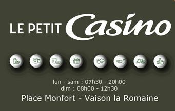Le Petit Casino - Partenaire Lions Club de Vaison la Romaine