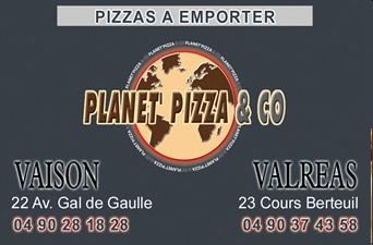 Planet Pizza & Co - Partenaire Lions Club de Vaison la Romaine