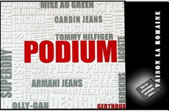 PODIUM - Partenaire Lions Club de Vaison la Romaine