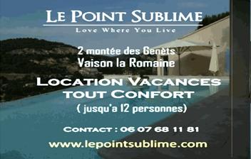 Le Point Sublime - Partenaire Lions Club de Vaison la Romaine
