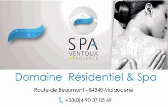 SPA Ventoux Provence - Partenaire Lions Club de Vaison la Romaine
