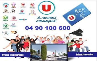 Super U - Partenaire Lions Club de Vaison la Romaine